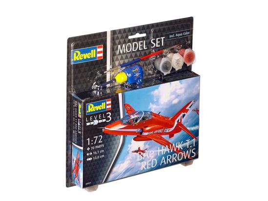 Снимка на Set model Revell Bae Hawk T 1 Săgeți roșii 1:72 64921