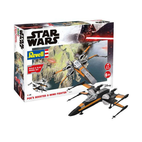 Снимка на Revell Star Wars Poe's Boosted X wing Fighter 1:78 6777