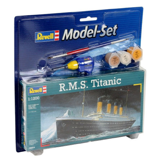 Снимка на Set model Revell RMS Titanic 1: 1200 65804