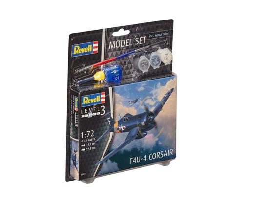 Снимка на Set model Revell F4U 4 Corsair 1:72 63955