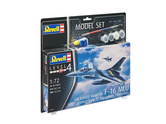 Снимка на Set model Revell F 16 Mlu Belgia 70 de ani 63905