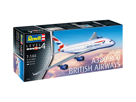 Снимка на Revell A 380 800 Emirates 1: 144 3922