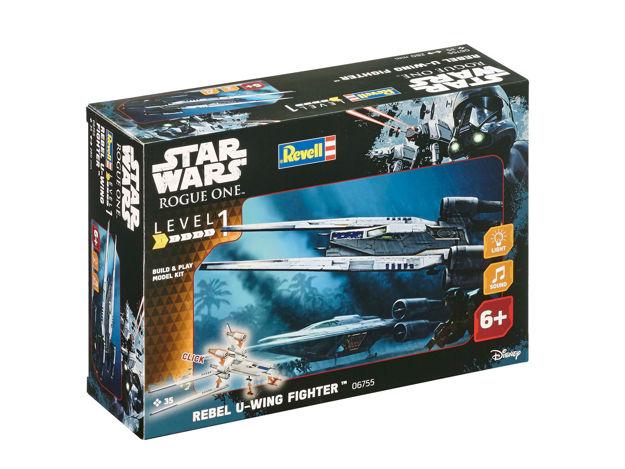 Poza cu Revell Star Wars Construiește și joacă Rebel U Wing Fighter 6755