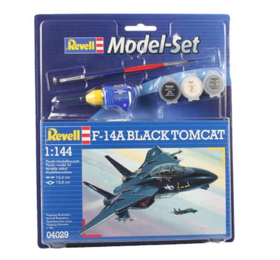 Poza cu Set model Revell F 14A Black Tomcat 1: 144 64029