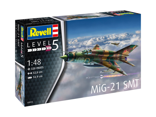 Снимка на Revell MiG 21 SMT 1:48 3915