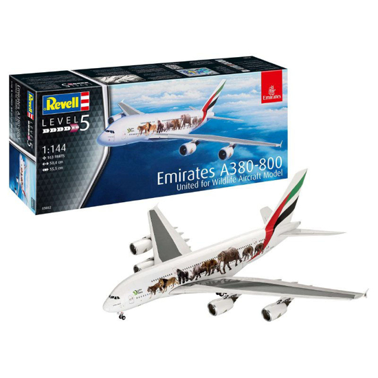 Poza cu Revell Airbus A380 800 Emirates Wild Life 3882