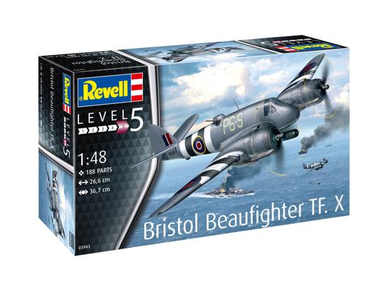 Снимка на Revell Bristol Beaufighter TF X 1:48 3943