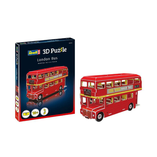 Poza cu Revell London Bus mini puzzle 3D 00113