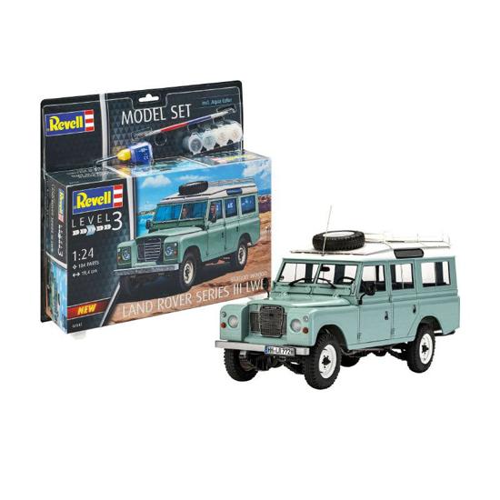 Poza cu Set model Revell Land Rover Series III 67047