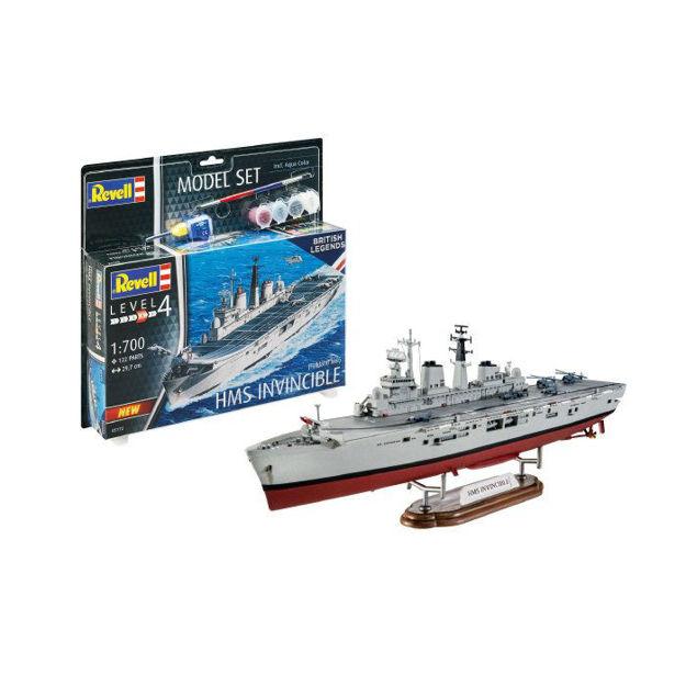 Снимка на Set model Revell HMS Invincible Falkland War 1: 700 65172