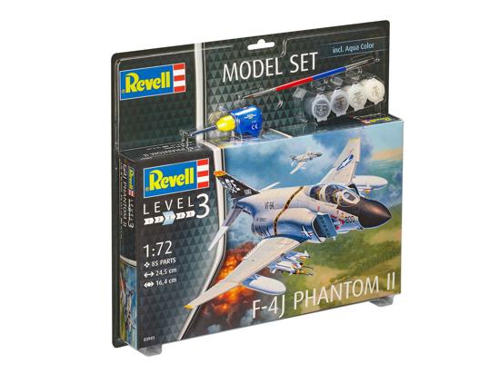 Снимка на Set model Revell F 4J Phantom II 1:72 63941