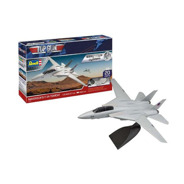 Poza cu Set model Revell Easy Click F 14 Tomcat Top Gun 1:72 64966