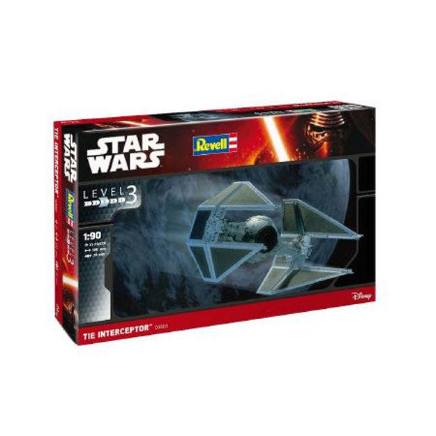 Poza cu Revell Star Wars TIE Interceptor 1:90 3603