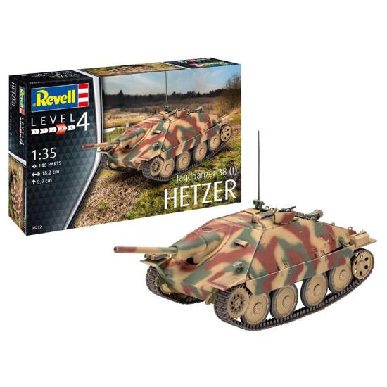 Poza cu Revell Jagdpanzer 38 t HETZER 1:35 3272