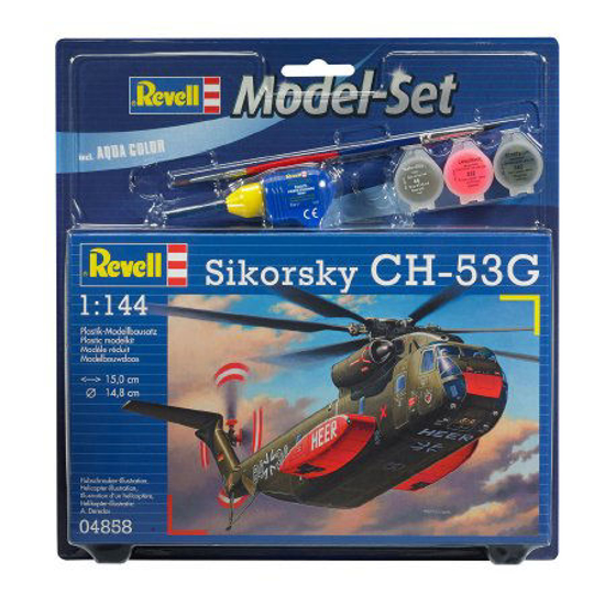 Снимка на Set model Revell Sikorsky CH 53G 1: 144 64858