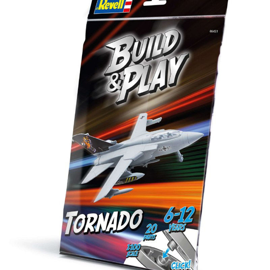 Poza cu Revell Build  and  Play Tornado IDS 6451