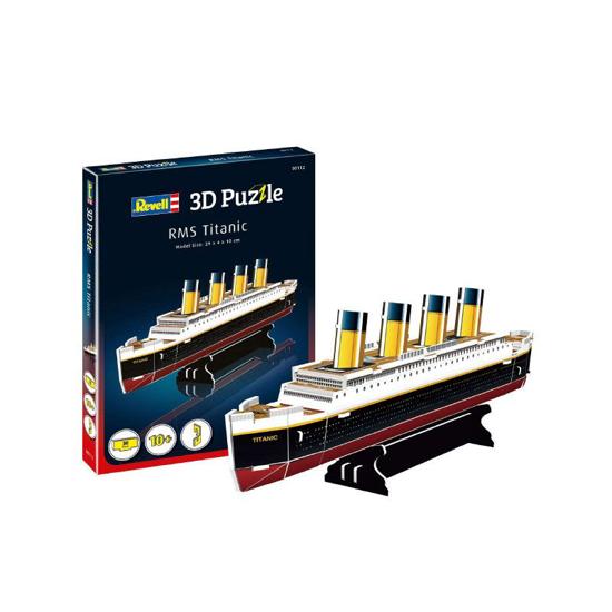 Снимка на Revell TITANIC mini puzzle 3D 00112
