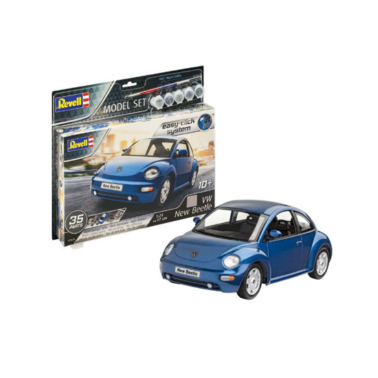 Снимка на Set model Revell VW New Beetle 1:24 67643