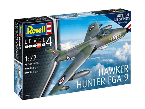 Снимка на Revell 100 de ani RAF: Hawker Hunter FGA9 3908