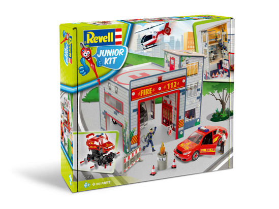 Снимка на Revell JUNIOR KIT Playset Fire Station 1:20 0850