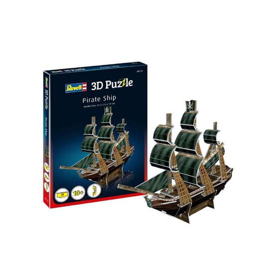 Снимка на Revell Pirate Ship mini puzzle 3D 00115