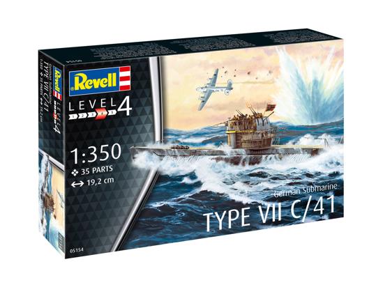 Снимка на Revell German Submarine Type VII C / 41 1: 350 5154
