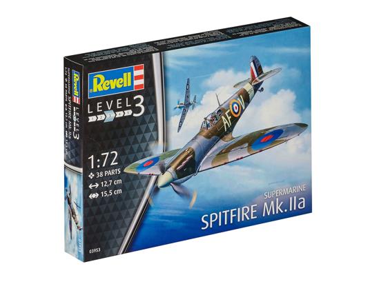 Снимка на Revell Spitfire Mk Iia 1:72 3953