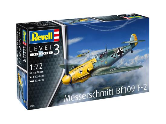 Снимка на 3893 Revell Messerschmitt Bf109 F 2 1:72 3893