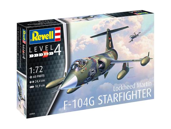 Poza cu Avion Revell F 104G Starfighter 1:72 3904