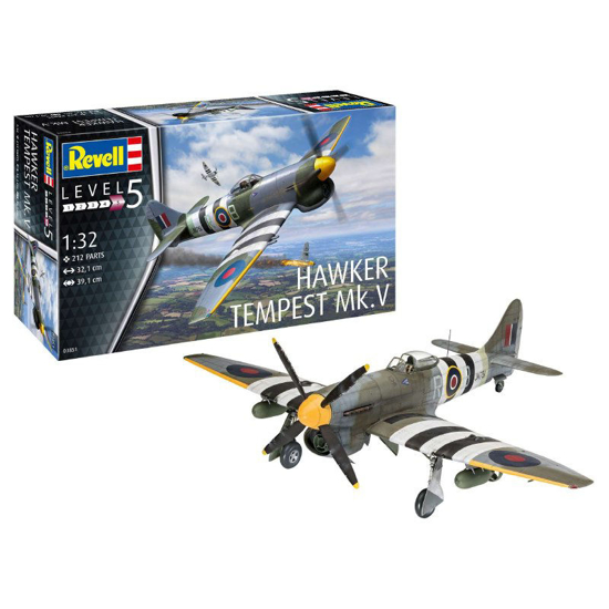 Poza cu 3851 Revell Hawker Tempest V 1:32
