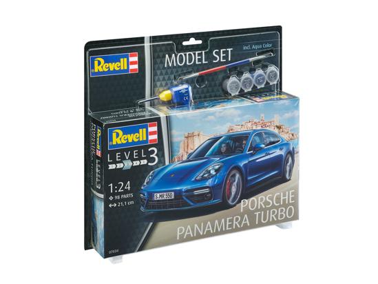 Снимка на Set model Revell Porsche Panamera 2 67034