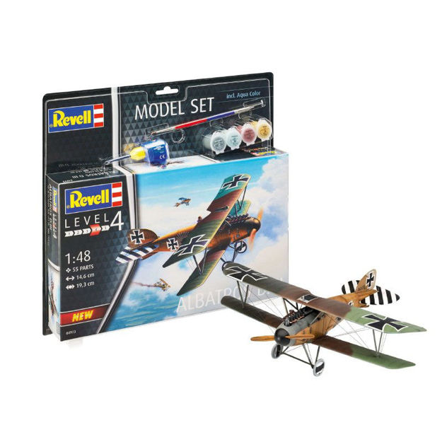 Poza cu Revell Model Set Albatros DIII 1:48 64973