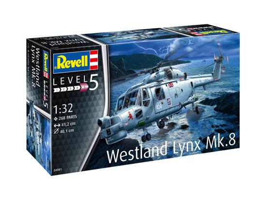 Poza cu Revell Westland Lynx Mark 8 1:32 4981