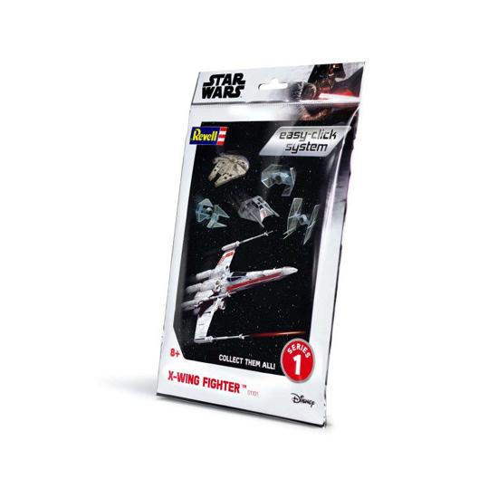 Снимка на Revell Star Wars X Wing Fighter faceți clic ușor 1: 112 1101