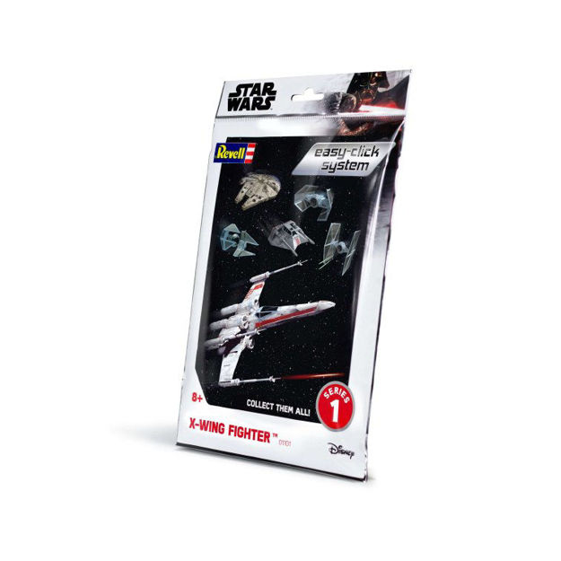 Poza cu Revell Star Wars X Wing Fighter faceți clic ușor 1: 112 1101