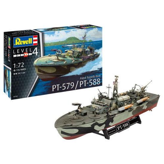 Poza cu Revell Patrol Torpedo Boat PT 588 / PT 579 1: 725165