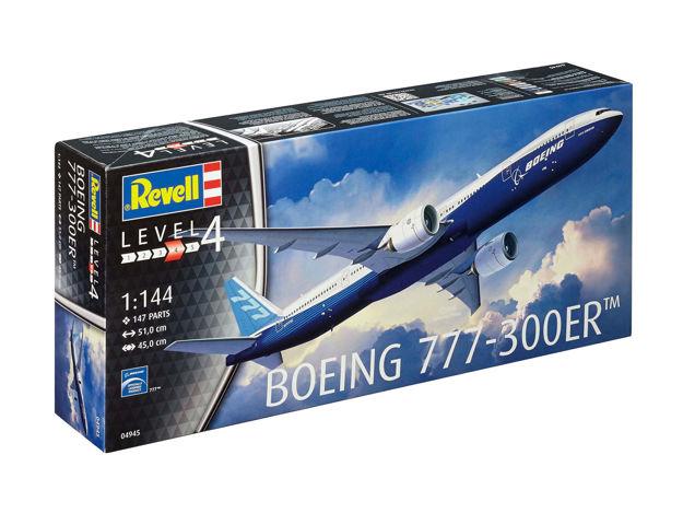 Poza cu Revell Boeing 777 300ER 1: 144 4945