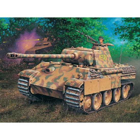 Poza cu Revell PzKpfw V Panther AusfG SdKfz171 1:72 3171