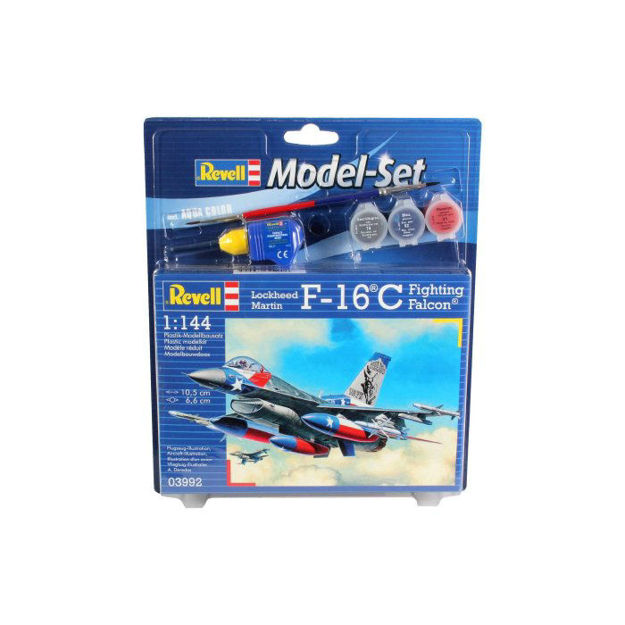 Poza cu Set model Revell Lockheed Martin F 16C Fighting Falcon 1: 144 63992