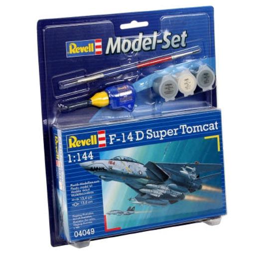 Снимка на Set model Revell F 14D Super Tomcat 64049
