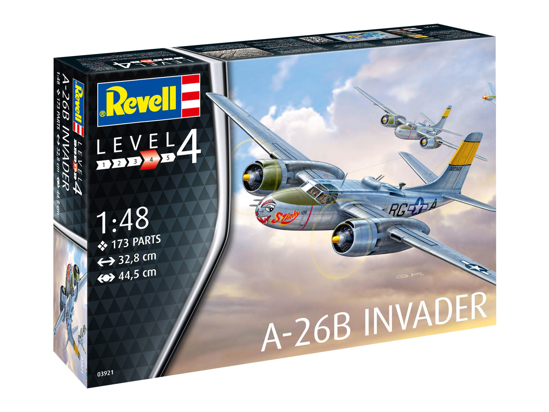 Poza cu Revell A 26B Invader 1:48 3921