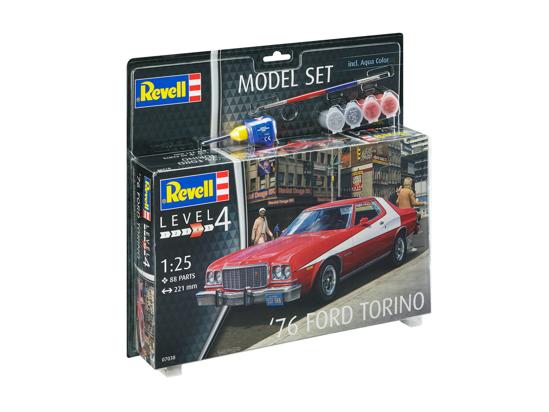 Poza cu Set model Revell 76 Ford Torino 67038