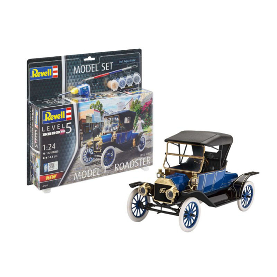 Poza cu Set model Revell Ford T Model Roadster 1913 1:24 67661