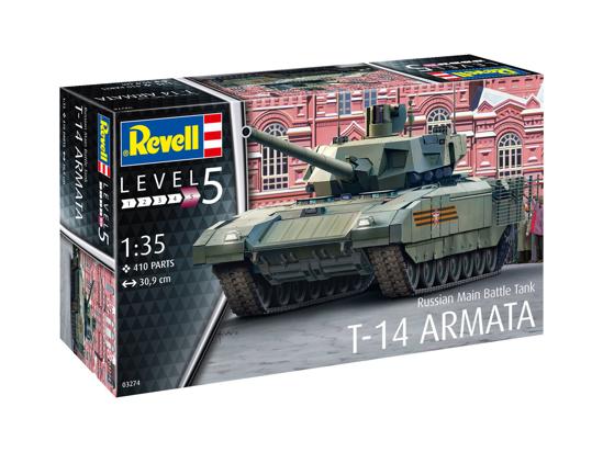 Снимка на Revell Russian Main Battle Tank T 14 Armata 1:35 3274