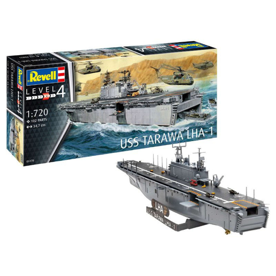 Снимка на Revell Assault Ship USS Tarawa LHA 1 1: 720 5170