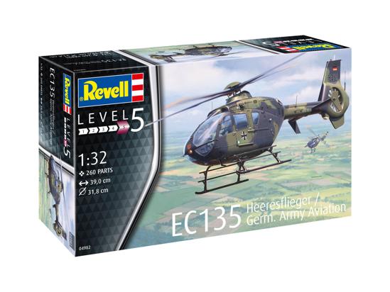 Снимка на Revell EC 135 Heeresflieger German Army Aviation 1:32 4982