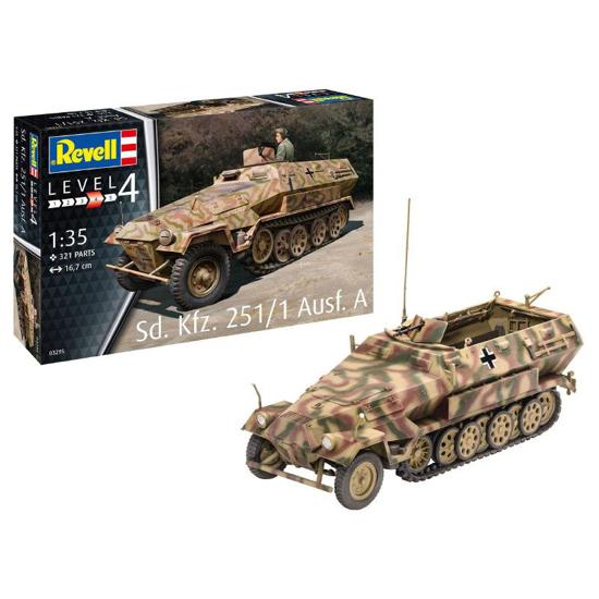 Снимка на Revell SdKfz 251/1 Ausf A 1:35 3295