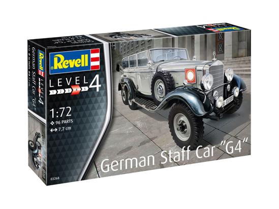 Poza cu Revell German Staff Car G4 1:72 3268