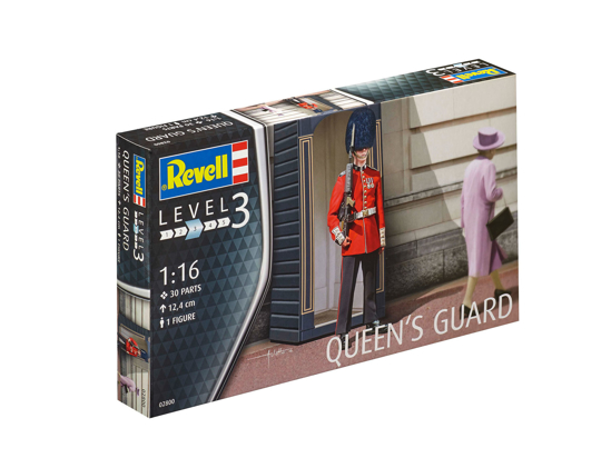 Poza cu Figurile militare Revell Queens Guard 1:16 2800