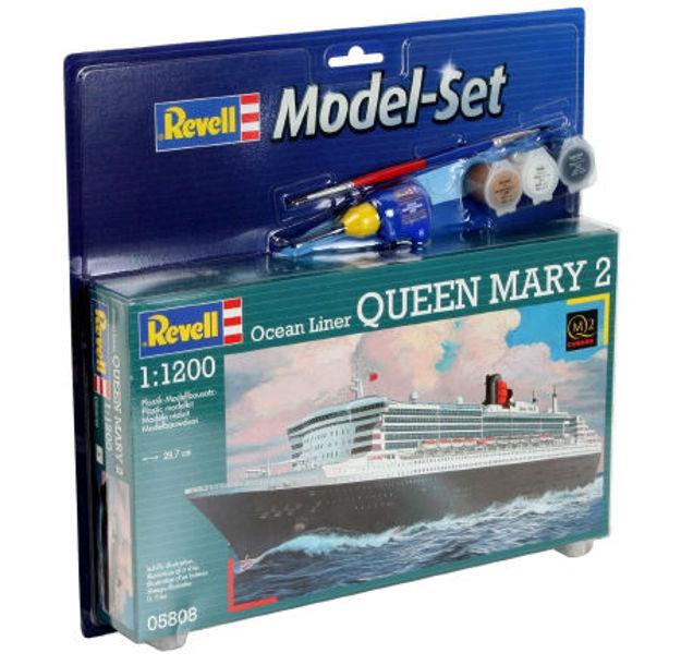 Poza cu Set model Revell Ocean Liner Queen Mary 2 1: 1200 65808
